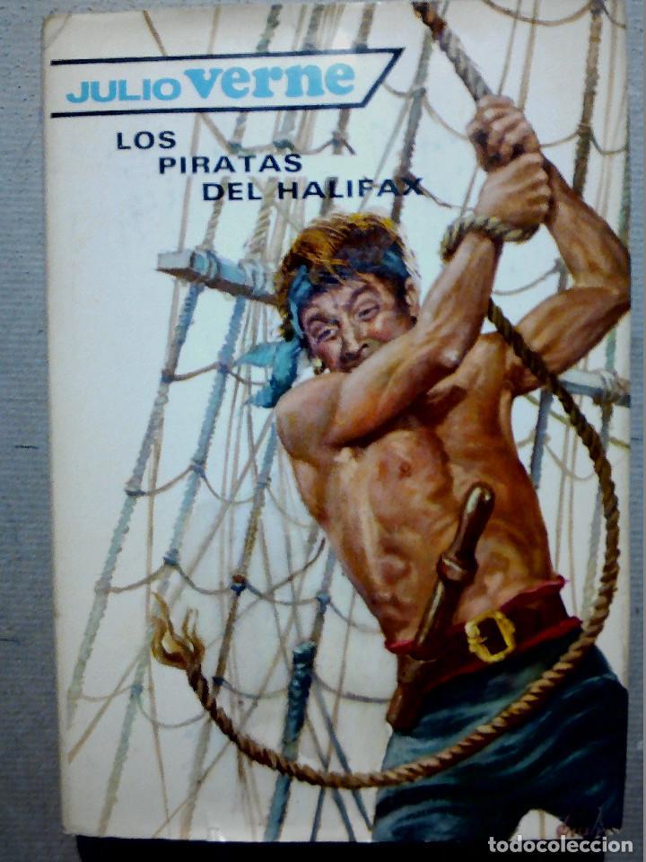 LOS PIRATAS DE HALIFAX JULIO VERNE EDITORIAL MOLINO (Libros Antiguos, Raros y Curiosos - Literatura Infantil y Juvenil - Otros)