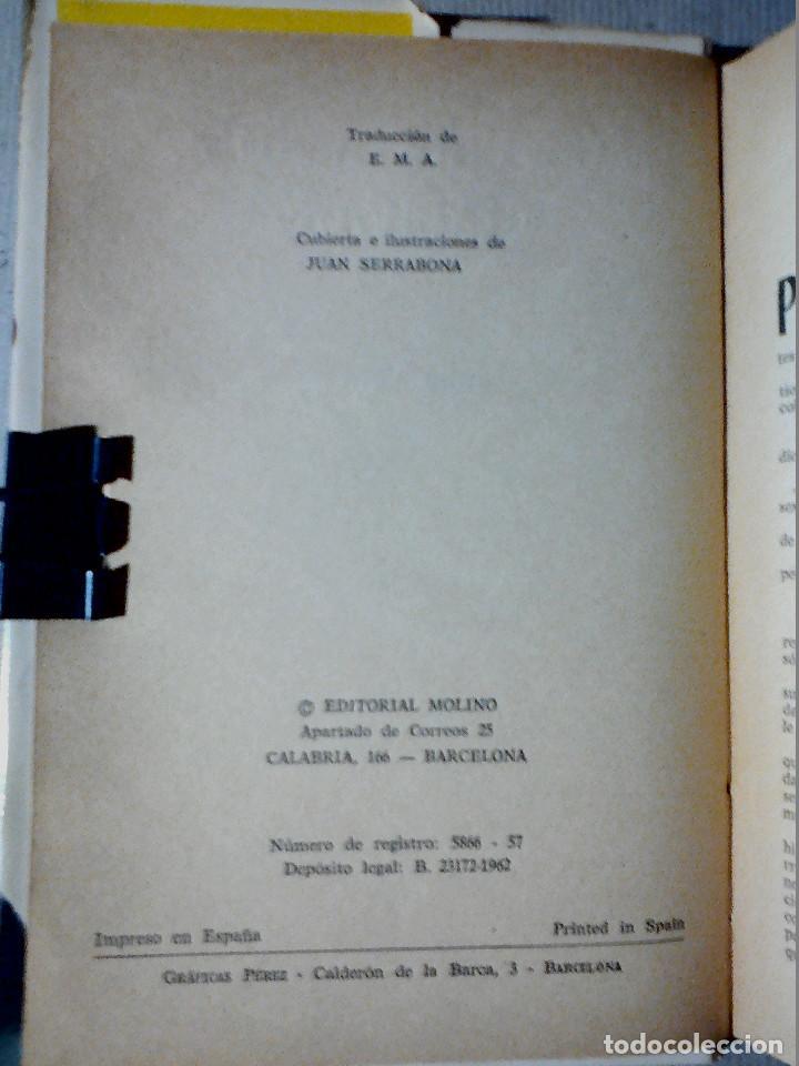 Libros antiguos: LOS PIRATAS DE HALIFAX JULIO VERNE EDITORIAL MOLINO - Foto 4 - 196978282