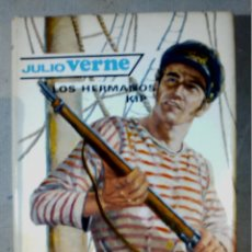 Libros antiguos: LOS HERMANOS KIP JULIO VERNE EDITORIAL MOLINO. Lote 196978770