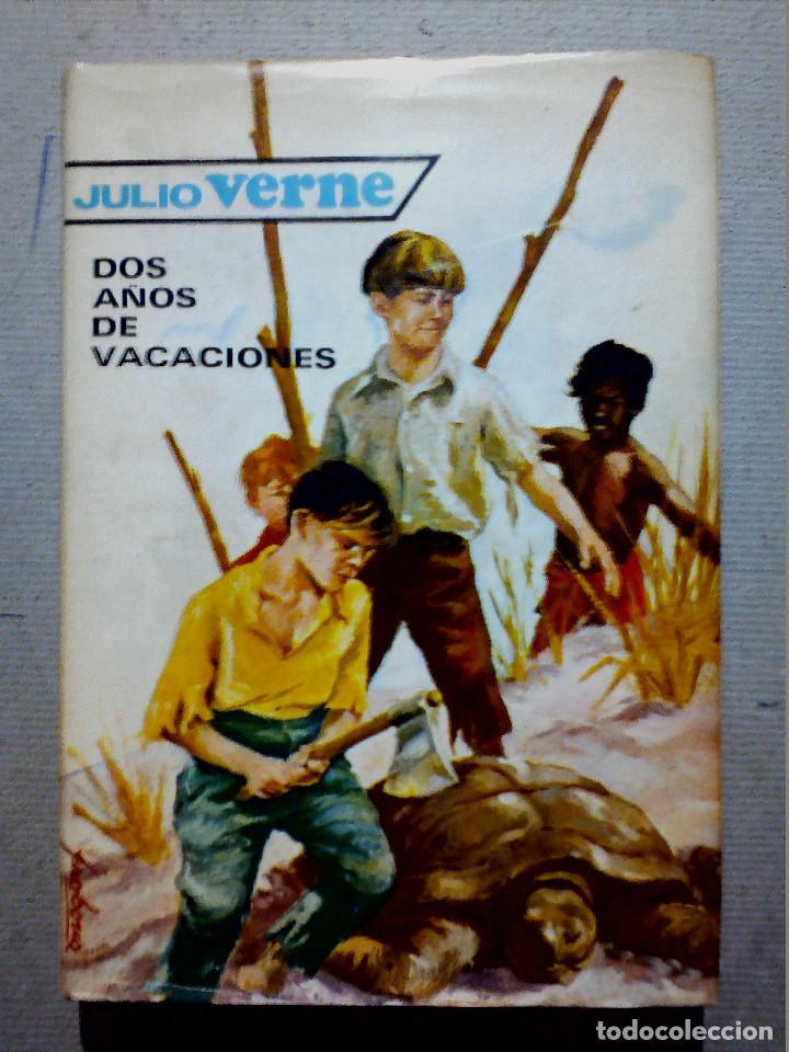 DOS AÑOS DE VACACIONES JULIO VERNE EDITORIAL MOLINO (Libros Antiguos, Raros y Curiosos - Literatura Infantil y Juvenil - Otros)