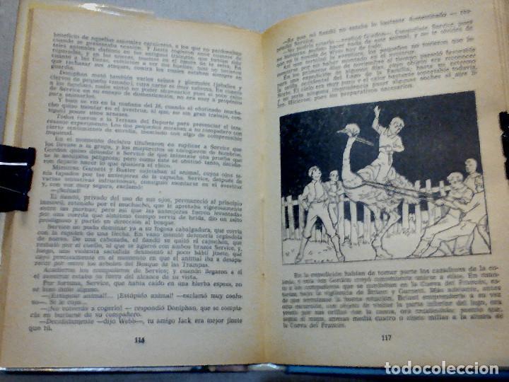 Libros antiguos: DOS AÑOS DE VACACIONES JULIO VERNE EDITORIAL MOLINO - Foto 6 - 196979351