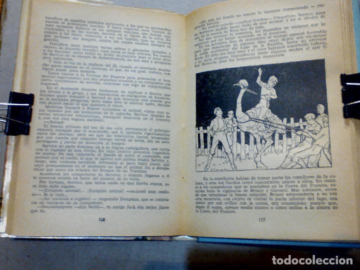 Libros antiguos: DOS AÑOS DE VACACIONES JULIO VERNE EDITORIAL MOLINO - Foto 7 - 196979351