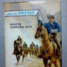 Libros antiguos: NORTE CONTRA SUR DE JULIO VERNE EDITORIAL MOLINO. Lote 196979592