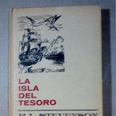 Libros antiguos: LA ISLA DEL TESORO DE R.L. STEVENSON EDITORIAL BRUGUERA. Lote 196980052
