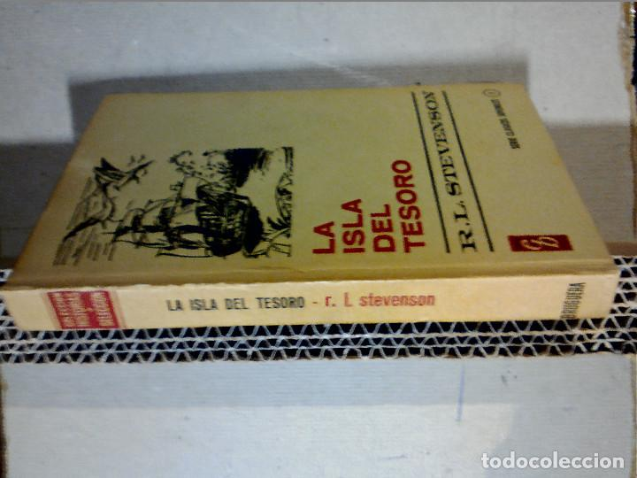 Libros antiguos: LA ISLA DEL TESORO DE R.L. STEVENSON EDITORIAL BRUGUERA - Foto 8 - 196980052