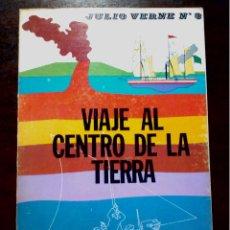 Libros antiguos: LIBRO ILUSTRADO VIAJE AL CENTRO DE LA TIERRA DE JULIO VERNE AÑOS 70. Lote 196981201