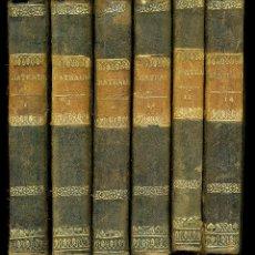 Libros antiguos: OEUVRES Y MEMORIAS DE S.A.R. EL DUQUE DE BERRY Y LOS CUATRO ESTUARDO, CHATEAUBRIAND. Lote 196981357