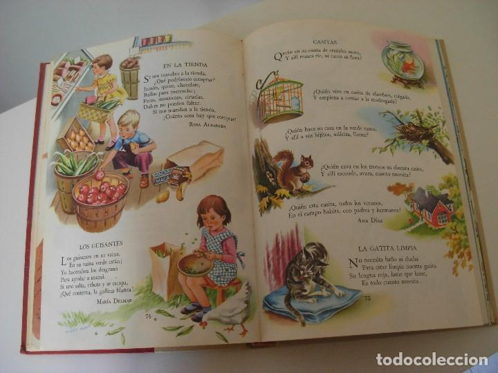 Libros antiguos: Poemas de la primera infancia Salvat 1967 El mundo de los niños - Foto 12 - 222542238