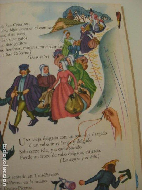 Libros antiguos: Poemas de la primera infancia Salvat 1967 El mundo de los niños - Foto 7 - 222542238