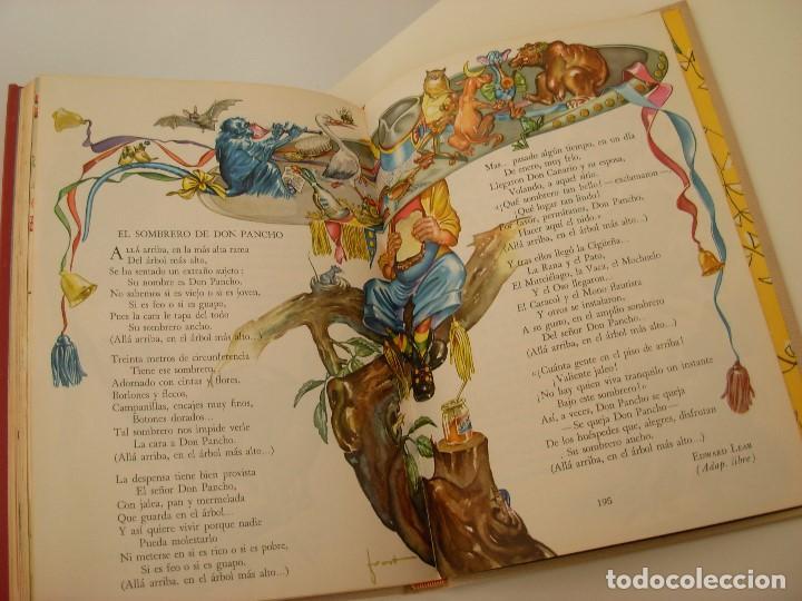 Libros antiguos: Poemas de la primera infancia Salvat 1967 El mundo de los niños - Foto 8 - 222542238