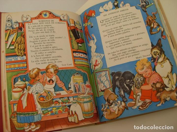 Libros antiguos: Poemas de la primera infancia Salvat 1967 El mundo de los niños - Foto 10 - 222542238