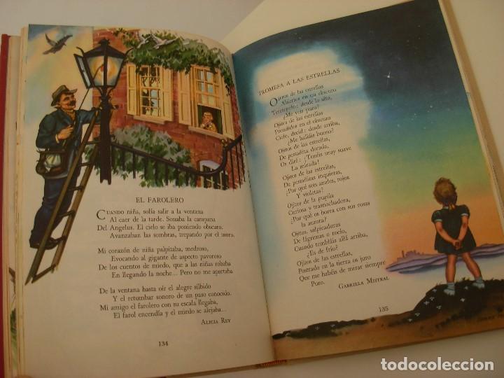 Libros antiguos: Poemas de la primera infancia Salvat 1967 El mundo de los niños - Foto 9 - 222542238