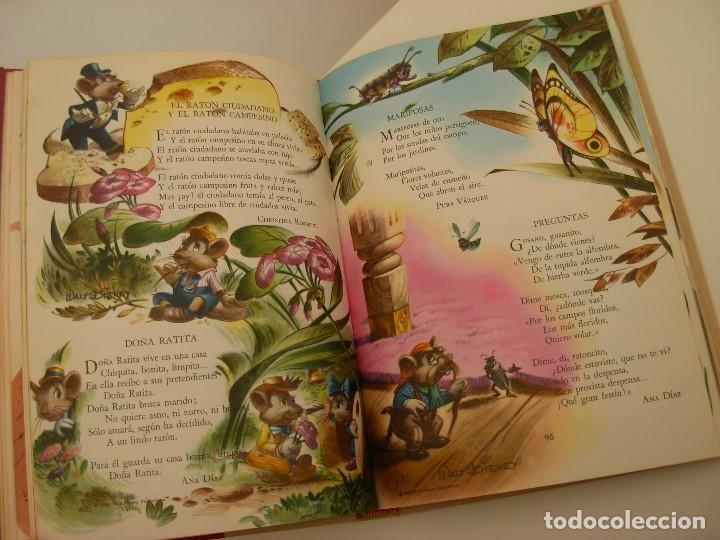 Libros antiguos: Poemas de la primera infancia Salvat 1967 El mundo de los niños - Foto 11 - 222542238
