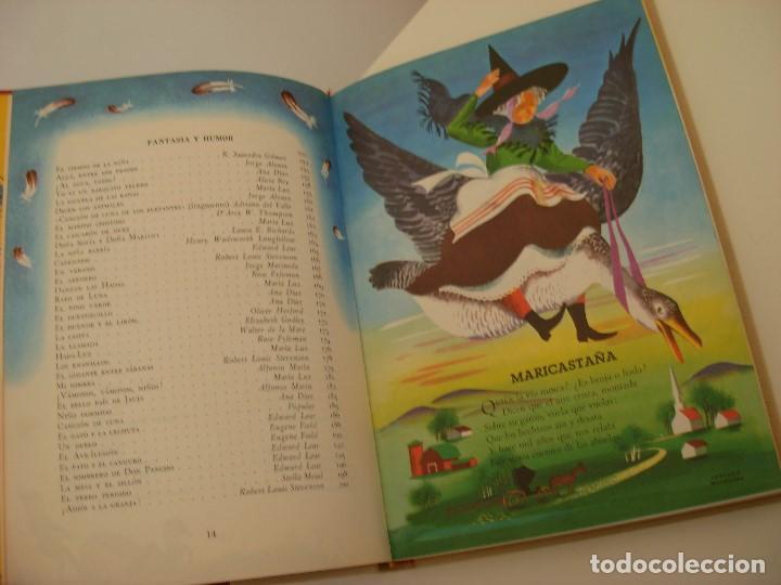 Libros antiguos: Poemas de la primera infancia Salvat 1967 El mundo de los niños - Foto 5 - 222542238