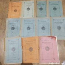 Libros antiguos: BOLETIN DE LA COMISION PROVINCIAL DE MONUMENTOS HISTÓRICOS Y ARTISTICOS DE ORENSE 186-196 1929-1931). Lote 197141878