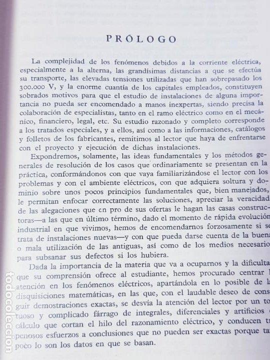 Libros antiguos: libro-electrotecnia industrial-j.arana-1963-ediciones URMO-4ªEDICIÓN-VER FOTOS - Foto 9 - 197147468