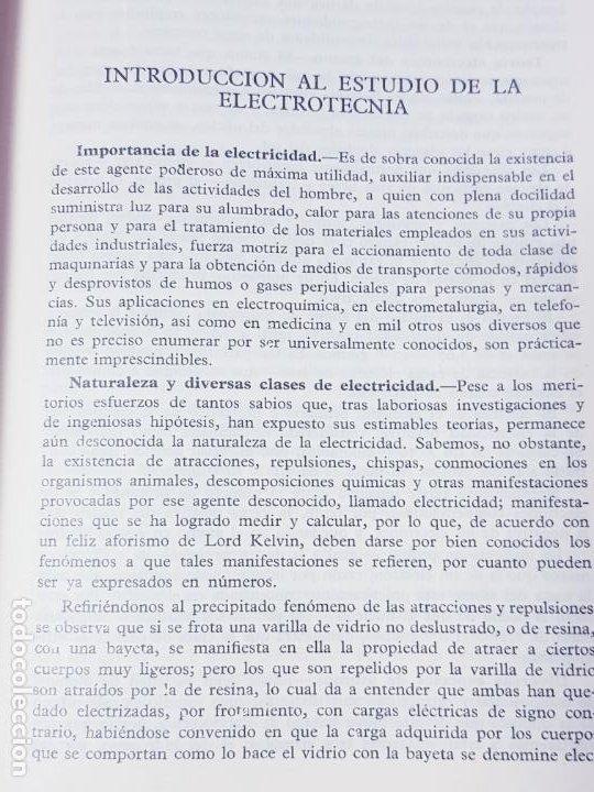 Libros antiguos: libro-electrotecnia industrial-j.arana-1963-ediciones URMO-4ªEDICIÓN-VER FOTOS - Foto 10 - 197147468