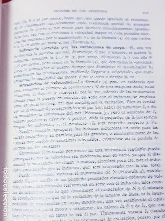 Libros antiguos: libro-electrotecnia industrial-j.arana-1963-ediciones URMO-4ªEDICIÓN-VER FOTOS - Foto 13 - 197147468