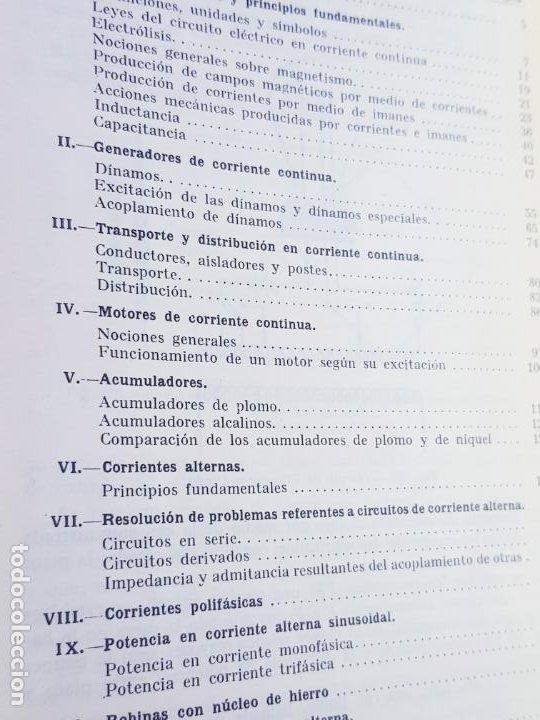 Libros antiguos: libro-electrotecnia industrial-j.arana-1963-ediciones URMO-4ªEDICIÓN-VER FOTOS - Foto 17 - 197147468