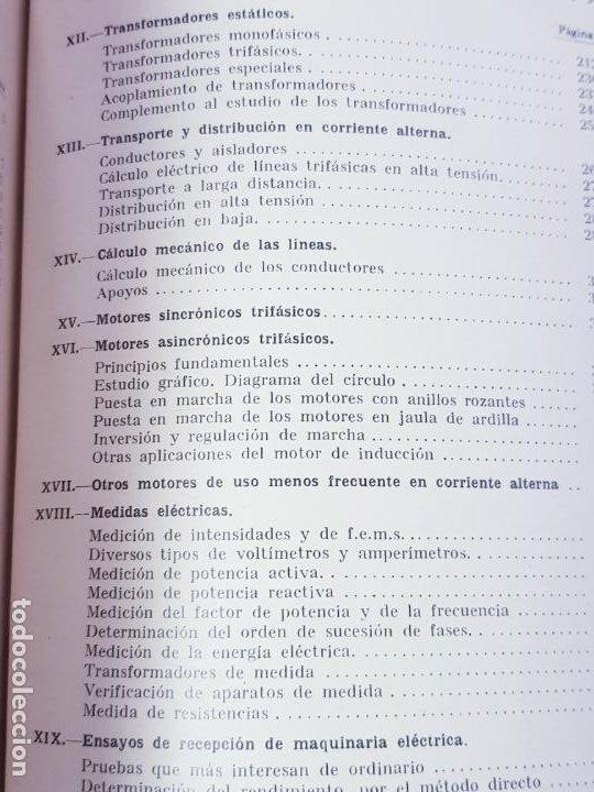 Libros antiguos: libro-electrotecnia industrial-j.arana-1963-ediciones URMO-4ªEDICIÓN-VER FOTOS - Foto 18 - 197147468