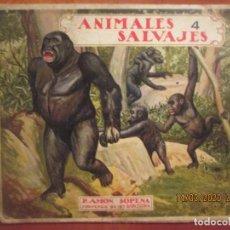Libros antiguos: BIBLIOTECA PARA NIÑOS. ANIMALES SALVAJES Nº 4. RAMON SOPENA. Lote 263034725