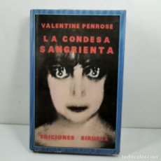 Livres anciens: LIBRO - LA CONSEA SANGRIENTA - VALENTINE PENROSE - EDICIONES SIRUELA - 1987 MADRID / N-10191. Lote 197197017