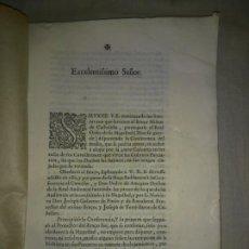 Libros antiguos: PROTECTOR DEL BRAZO MILITAR DE CATHALUÑA - AÑO 1674 - EXCEPCIONAL DOCUMENTO.. Lote 197338256