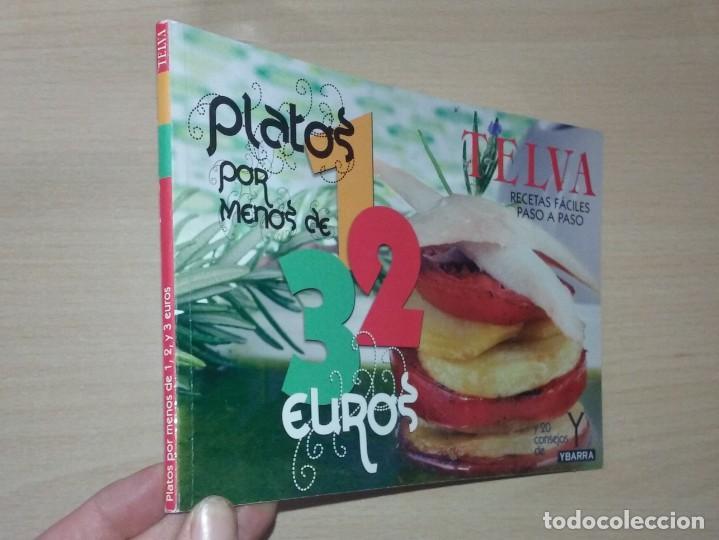 RECETAS FÁCILES PASO A PASO. PLATOS POR MENOS DE 1-2-3 EUROS (TELVA) (Libros Antiguos, Raros y Curiosos - Cocina y Gastronomía)