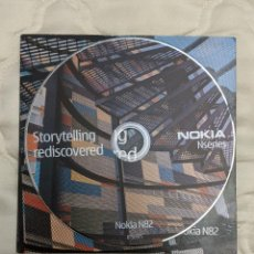 Libros antiguos: SOFTWARE PC CD INSTALACION NOKIA N82 COLECCION 2007. Lote 197489310