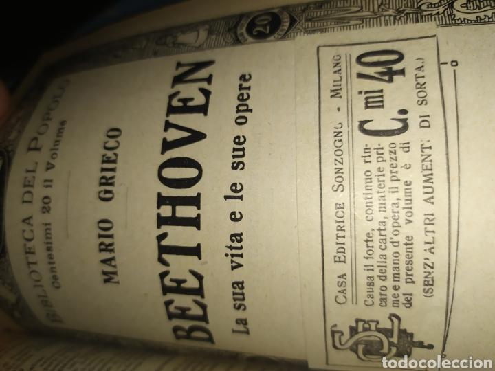 Libros antiguos: Publicaciones Sonzogno encuadernadas - Biblioteca del Popolo - Foto 5 - 197528776
