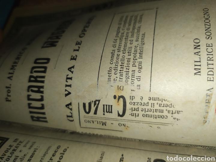Libros antiguos: Publicaciones Sonzogno encuadernadas - Biblioteca del Popolo - Foto 6 - 197528776
