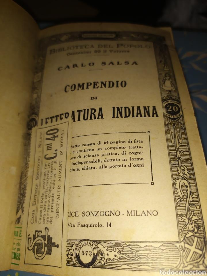 PUBLICACIONES SONZOGNO ENCUADERNADAS - BIBLIOTECA DEL POPOLO (Libros Antiguos, Raros y Curiosos - Historia - Otros)