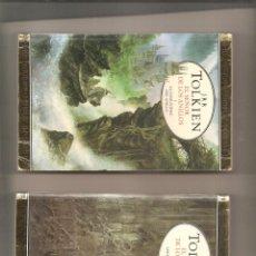 Libros antiguos: 1424. TOLKIEN.EL SEÑOR DE LOS ANILLOS + EL HOBBIT ( CUATRO LIBROS). Lote 197549020