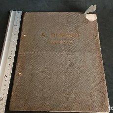 Libros antiguos: CARPETA ANTIGUA CON LAMINAS DE IMAGENES Y TEXTOS SOBRE ALAMBIQUES , A. DUPONT. LEER DESCRIPCION. Lote 197613330