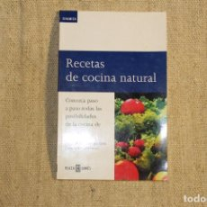 Libros antiguos: RECETAS DE COCINA NATURAL DINAMARCA. Lote 197769567