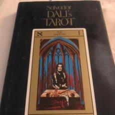 Libros antiguos: SALVADOR DALÍ , TAROT . Lote 197807822