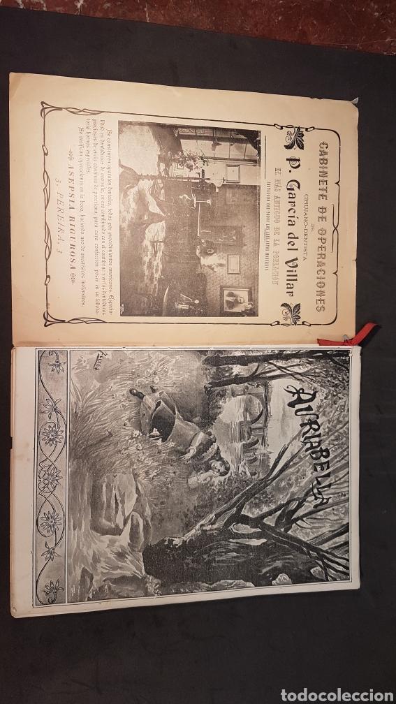Libros antiguos: REVISTA AURIABELLA, DEDICADO AL PUEBLO DE OURENSE CON MOTIVO DE LAS FIESTAS DEL CORPUS 1903. - Foto 2 - 197916795