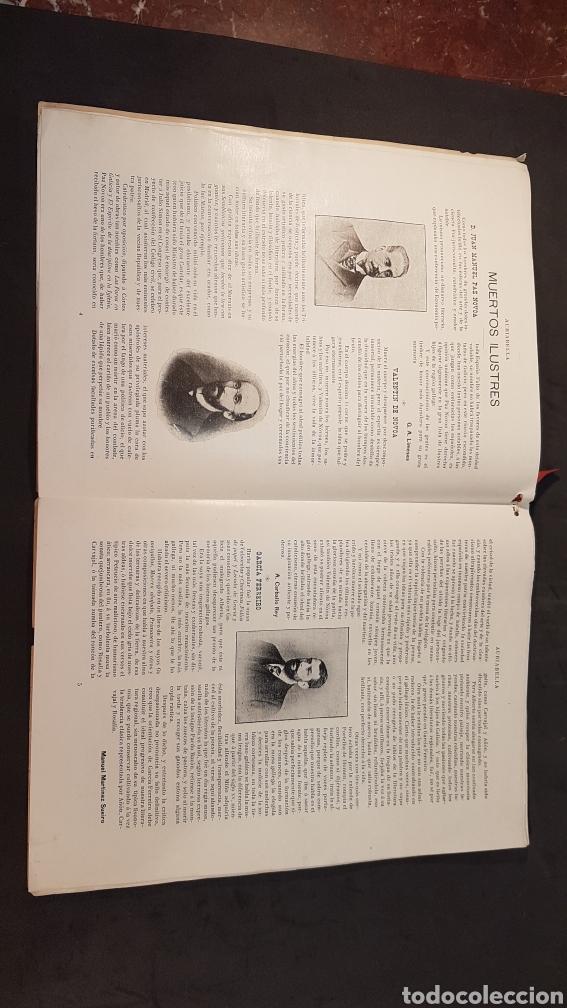 Libros antiguos: REVISTA AURIABELLA, DEDICADO AL PUEBLO DE OURENSE CON MOTIVO DE LAS FIESTAS DEL CORPUS 1903. - Foto 4 - 197916795