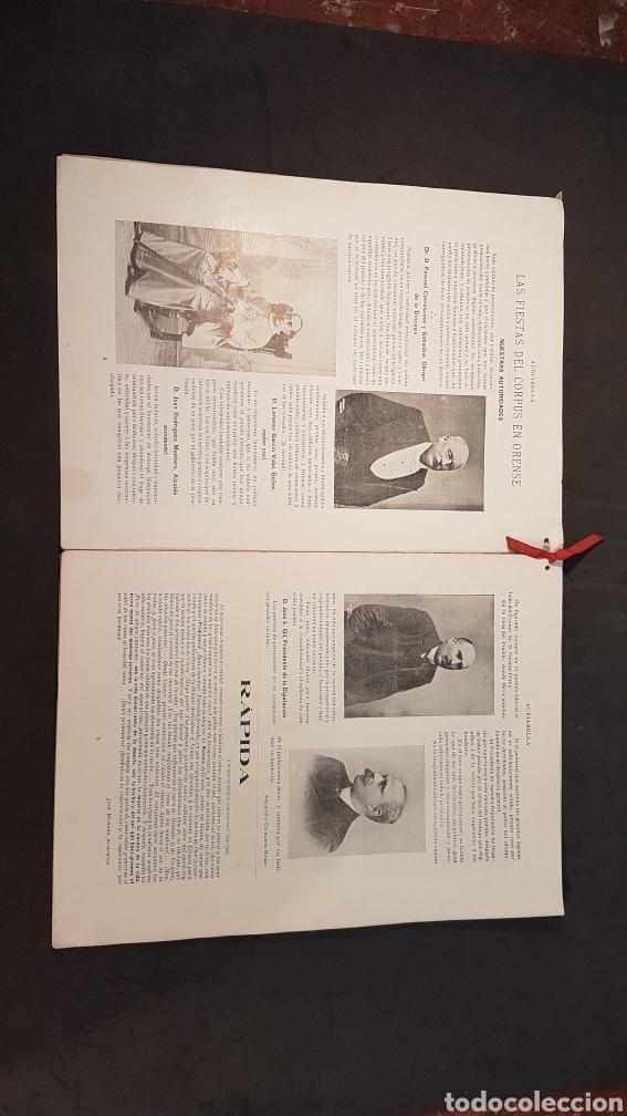 Libros antiguos: REVISTA AURIABELLA, DEDICADO AL PUEBLO DE OURENSE CON MOTIVO DE LAS FIESTAS DEL CORPUS 1903. - Foto 6 - 197916795