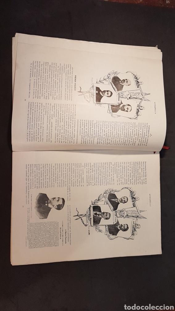 Libros antiguos: REVISTA AURIABELLA, DEDICADO AL PUEBLO DE OURENSE CON MOTIVO DE LAS FIESTAS DEL CORPUS 1903. - Foto 10 - 197916795