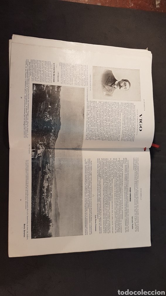 Libros antiguos: REVISTA AURIABELLA, DEDICADO AL PUEBLO DE OURENSE CON MOTIVO DE LAS FIESTAS DEL CORPUS 1903. - Foto 11 - 197916795