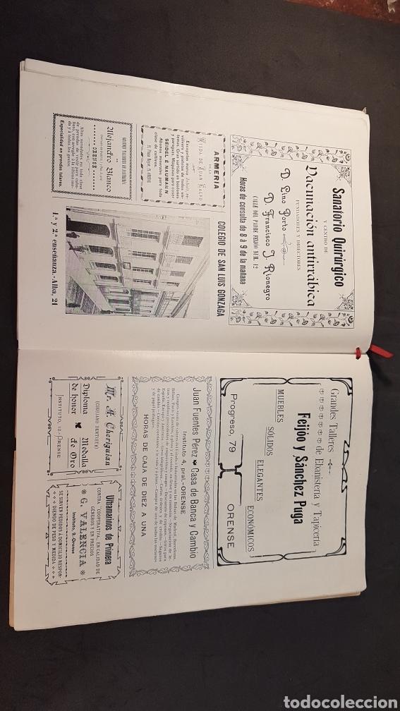 Libros antiguos: REVISTA AURIABELLA, DEDICADO AL PUEBLO DE OURENSE CON MOTIVO DE LAS FIESTAS DEL CORPUS 1903. - Foto 15 - 197916795
