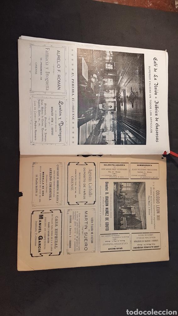 Libros antiguos: REVISTA AURIABELLA, DEDICADO AL PUEBLO DE OURENSE CON MOTIVO DE LAS FIESTAS DEL CORPUS 1903. - Foto 17 - 197916795