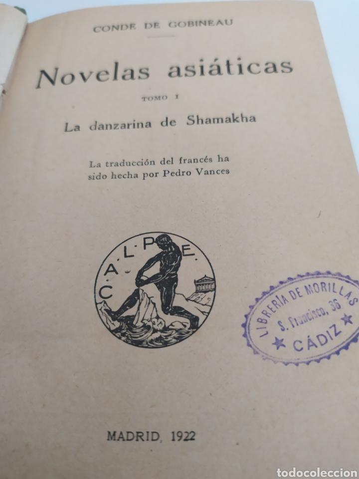 Libros antiguos: La danzarina tomo l, de Shaarkla por conde de gobineu. 1922. - Foto 2 - 197991932