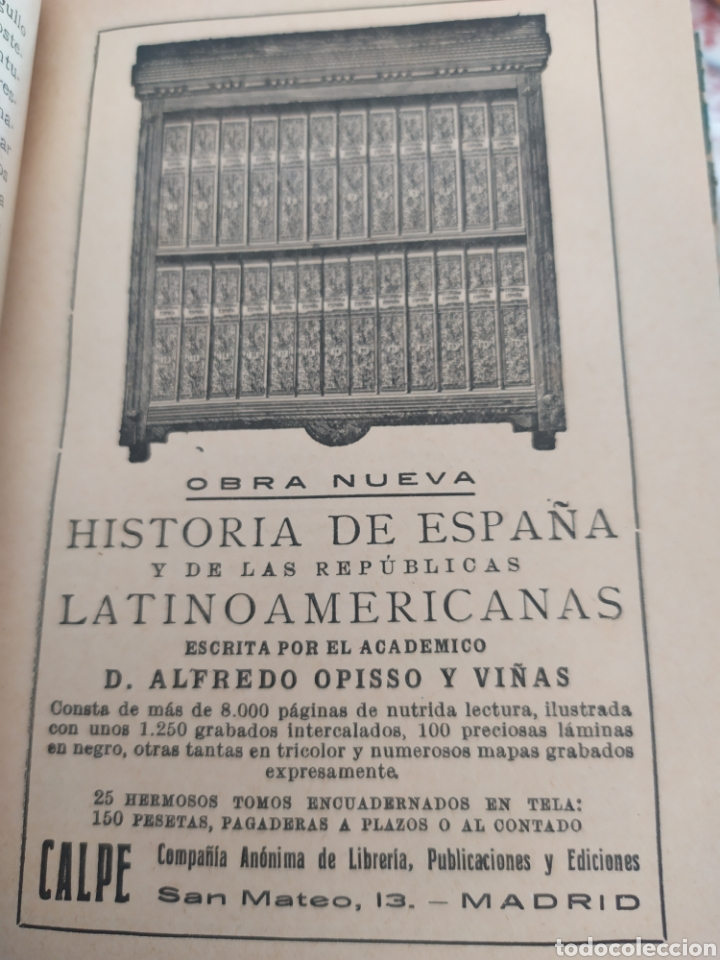 Libros antiguos: La danzarina tomo l, de Shaarkla por conde de gobineu. 1922. - Foto 4 - 197991932
