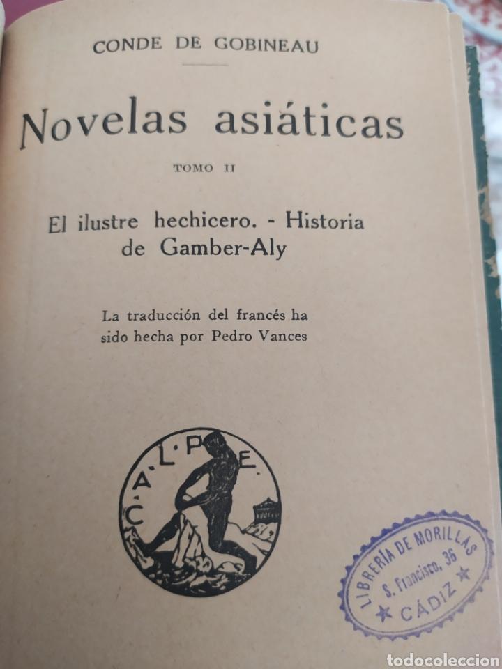 Libros antiguos: La danzarina tomo l, de Shaarkla por conde de gobineu. 1922. - Foto 5 - 197991932