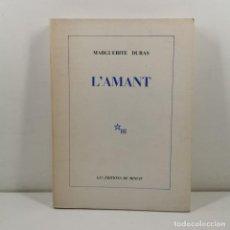 Livros antigos: LLIBRE - L'AMANT - MARGUERITE DURAS - LES ÉDITIONS DE MINUIT - 1984 - PARIS / N-10.641. Lote 198139805