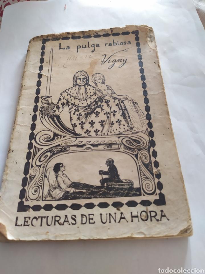 LA PULGA RABIOSA DE ALFREDO VIGNY 1797-1863 (Libros Antiguos, Raros y Curiosos - Literatura Infantil y Juvenil - Otros)