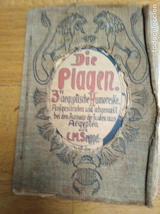 LIBRO ANTIGUO DIE PLAGEN 3TE AEGYTISCHE HUMORESKE (Libros Antiguos, Raros y Curiosos - Otros Idiomas)