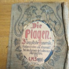 Libros antiguos: LIBRO ANTIGUO DIE PLAGEN 3TE AEGYTISCHE HUMORESKE. Lote 198313815